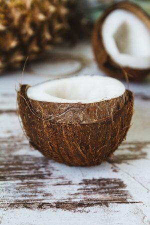 kokosnoot gezonde huid