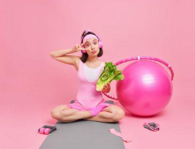 gezonde leefstijl meisje gewicht